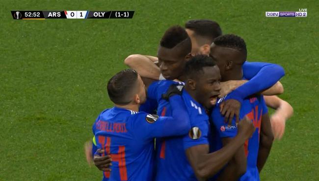 اهداف مباراة ارسنال واولمبياكوس (1-2) الدوري الاوروبي