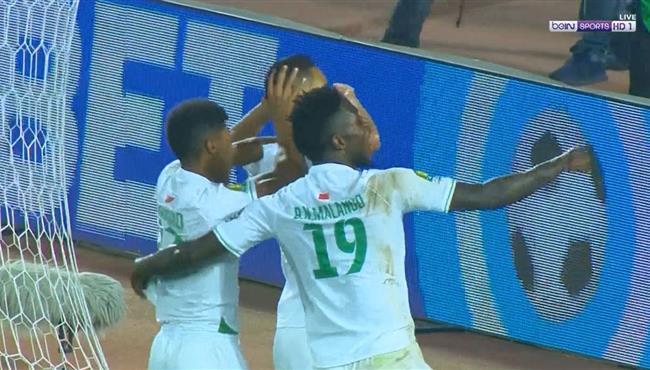 هدف الرجاء الثاني فى مرمي مازيمبي (2-0) دوري ابطال افريقيا