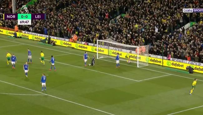 هدف فوز نورويتش سيتي على ليستر سيتي (1-0) الدوري الانجليزي