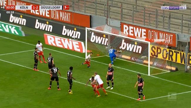 اهداف مباراة دوسلدورف وكولن (2-2) الدوري الالماني