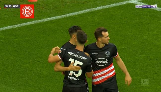 هدف دوسلدورف الثاني فى مرمي كولن (2-0) الدوري الالماني
