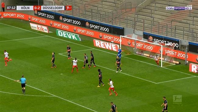هدف كولن الاول فى مرمي دوسلدورف (1-2) الدوري الالماني