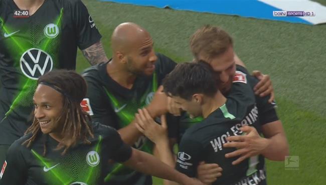 اهداف مباراة فولفسبورج وباير ليفركوزن (4-1) الدوري الالماني