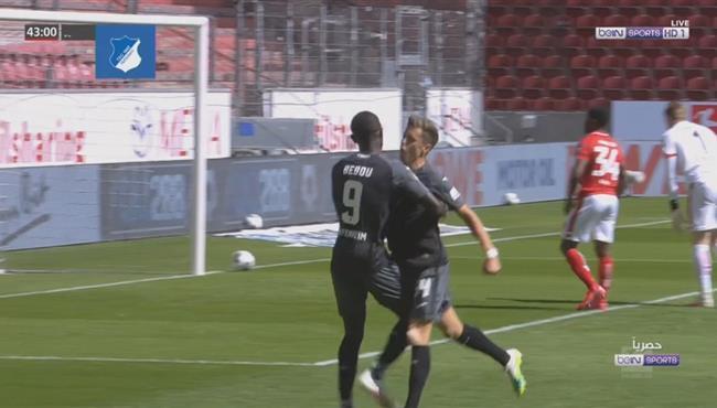 هدف فوز هوفنهايم علي ماينز (1-0) الدوري الالماني