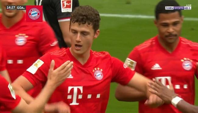 اهداف مباراة بايرن ميونخ وفورتونا دوسلدورف (5-0) تعليق رؤوف خليف