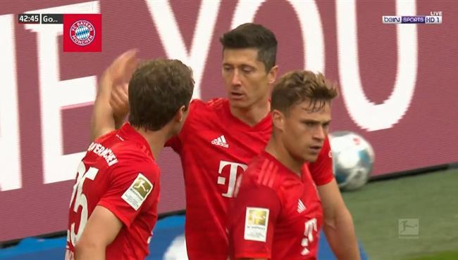 بعد جملة رائعة .. بايرن ميونخ يسجل هدف ثالث في مرمي فورتونا دوسلدورف بتعليق رؤوف خليف