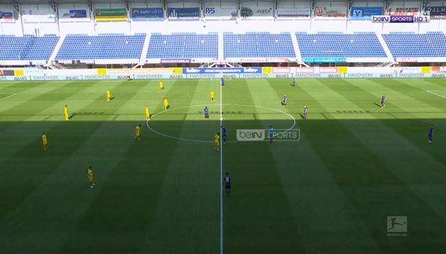 ملخص مباراة بوروسيا دورتموند وبادربورن (6-1) الدوري الالماني