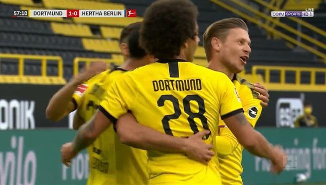 هدف فوز بوروسيا دورتموند على هيرتا برلين (1-0) الدوري الالماني