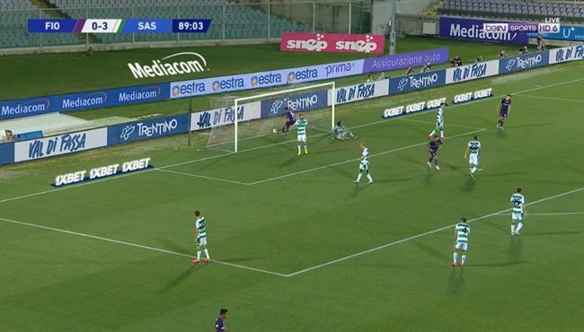 اهداف مباراة فيورنتينا وساسولو (1-3) الدوري الايطالي