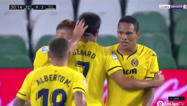 اهداف مباراة فياريال وريال بيتيس (2-0) الدوري الاسباني