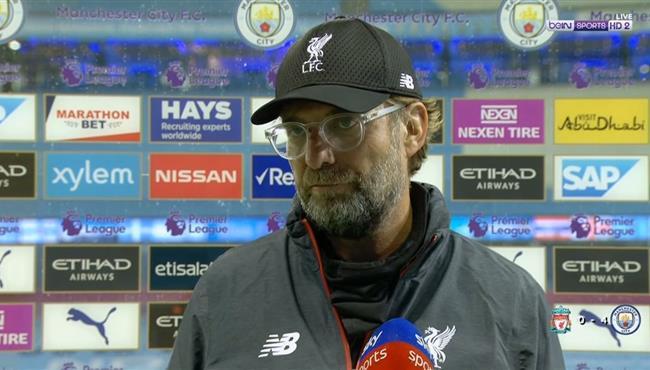 تصريحات يورجن كلوب بعد مباراة ليفربول ومانشستر سيتي