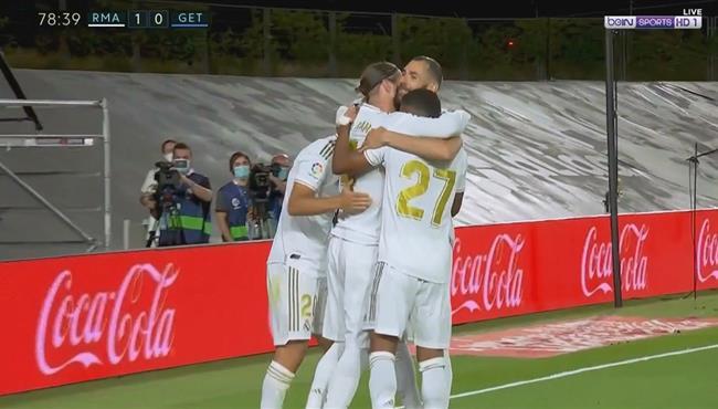 هدف فوز ريال مدريد علي خيتافى (1-0) الدوري الاسباني