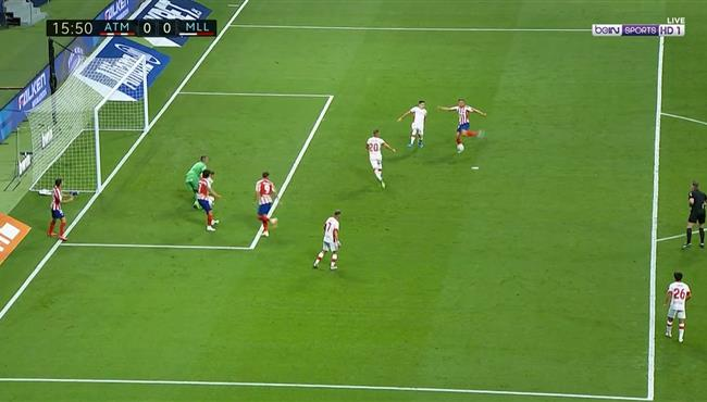 الفارو موراتا وماركوس يورينتي يهدران فرصة هدف محقق امام ريال مايوركا على مرتين