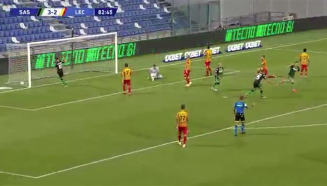 اهداف مباراة ساسولو وليتشي (4-2) الدوري الايطالي