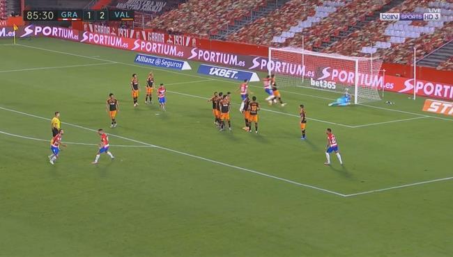 اهداف مباراة فالنسيا وغرناطة (2-2) الدوري الاسباني