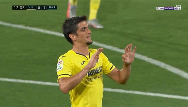 هدف تعادل فياريال مع برشلونة (1-1) الدوري الاسباني