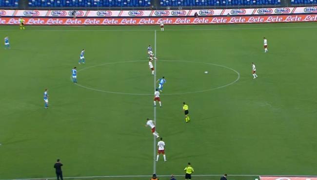 ملخص مباراة نابولي وروما (2-1) الدوري الايطالي