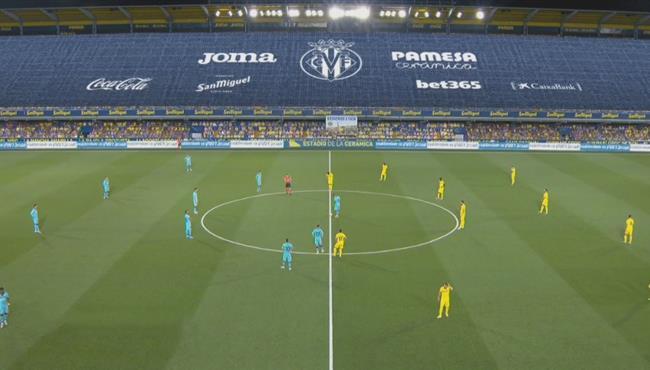 ملخص مباراة برشلونة وفياريال (4-1) الدوري الاسباني