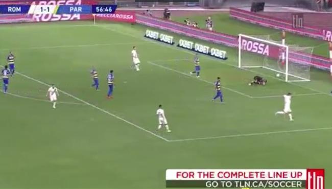 اهداف مباراة روما وبارما (2-1) الدوري الايطالي