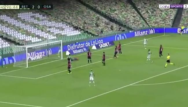 اهداف مباراة ريال بيتيس واوساسونا (3-0) الدوري الاسباني