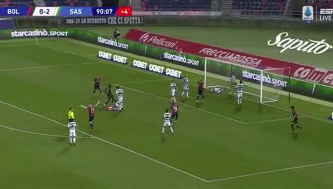 اهداف مباراة ساسولو وبولونيا (2-1) الدوري الايطالي