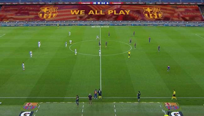 ملخص مباراة برشلونة واسبانيول (1-0) تعليق حفيظ دراجي