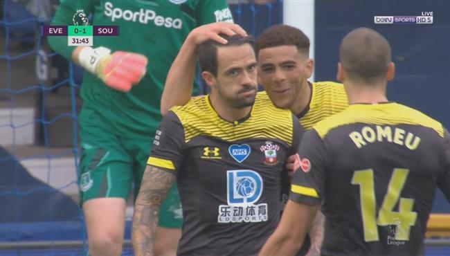 اهداف مباراة ايفرتون وساوثهامبتون (1-1) الدوري الانجليزي