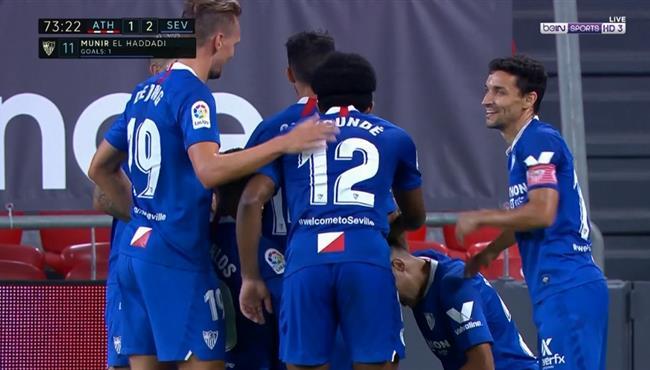 اهداف مباراة اشبيلية واتلتيك بلباو (2-1) الدوري الاسباني