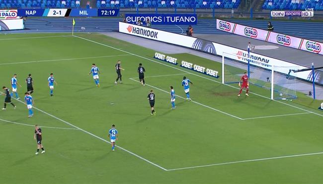 اهداف مباراة ميلان ونابولي (2-2) الدوري الايطالي