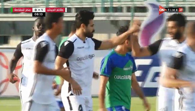 هدف احمد سامي الرائع في مرمي مصر المقاصة .. مباراة ودية