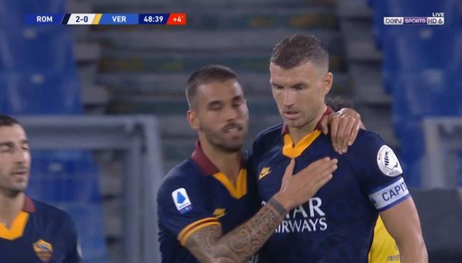 اهداف مباراة روما وهيلاس فيرونا (2-1) الدوري الايطالي