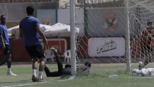 اهداف الاهلي في مران اليوم .. تراي ماتش