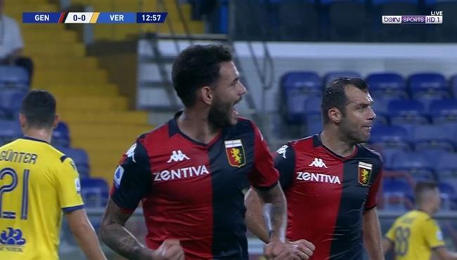 اهداف مباراة جنوي وهيلاس فيرونا (3-0) الدوي الايطالي