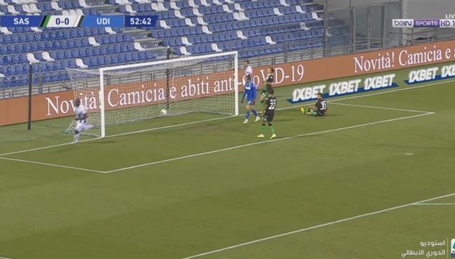 هدف فوز اودينيزي علي ساسولو (1-0) الدوري الايطالي