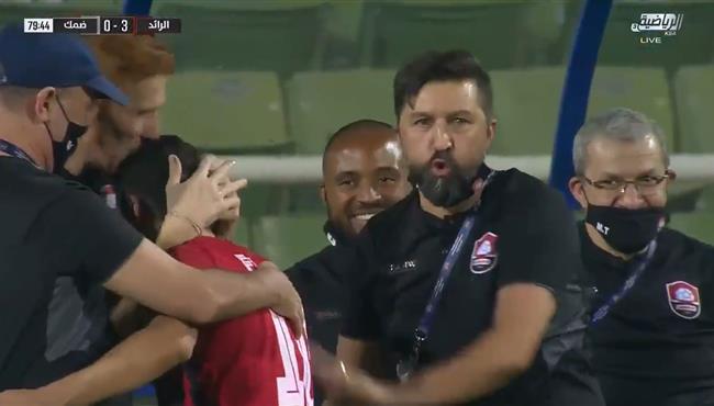 اهداف مباراة الرائد وضمك (3-0) الدوري السعودي