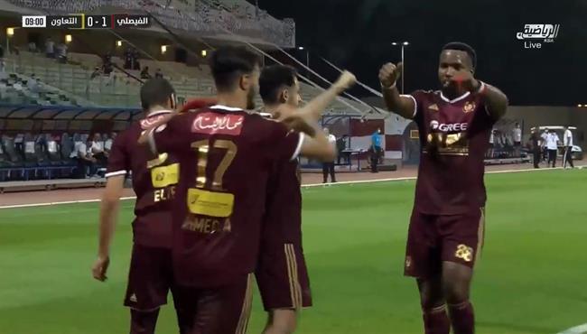 اهداف مباراة الفيصلي والتعاون (2-1) الدوري السعودي