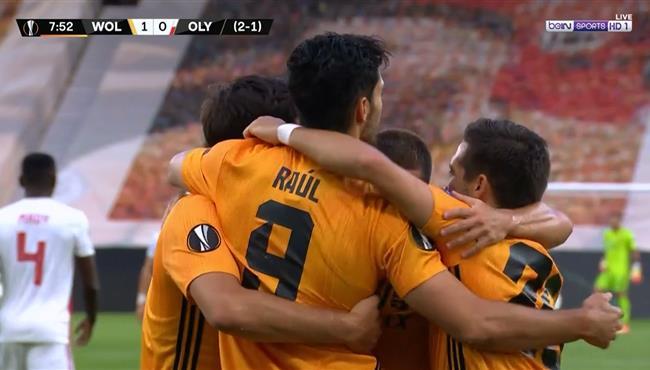 هدف فوز ولفرهامبتون علي اولمبياكوس (1-0) الدوري الاوروبي