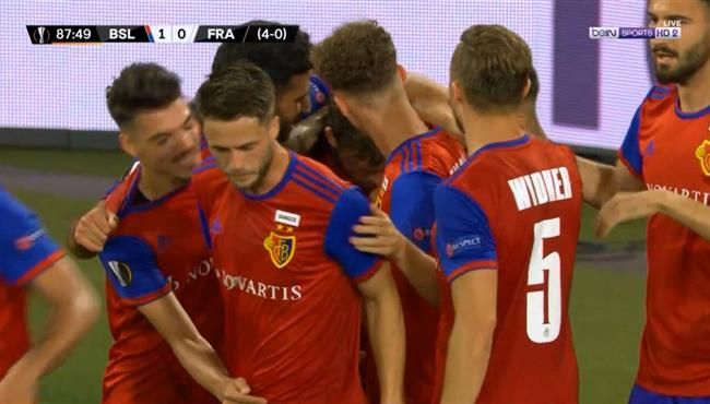 هدف فوز بازل علي فرانكفورت (1-0) الدوري الاوروبي