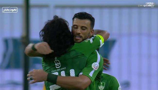 هدف عمر السومه الثاني فى مرمي الاتحاد بالدوري السعودي