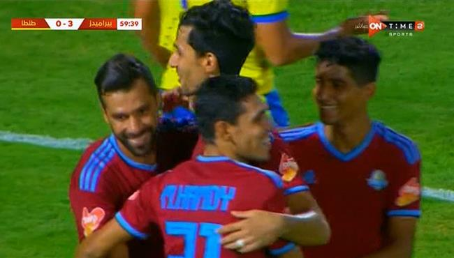 اهداف مباراة بيراميدز وطنطا (3-0) هاتريك عبد الله السعيد