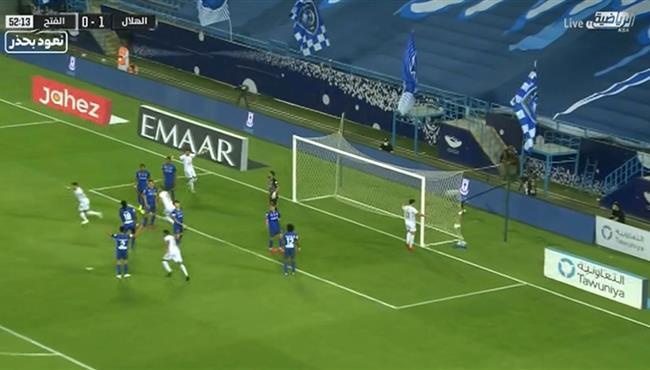 هدف تعادل الفتح مع الهلال (1-1) الدوري السعودي