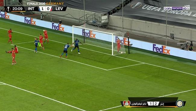 اهداف مباراة انتر ميلان وباير ليفركوزن (2-1) الدوري الاوروبي