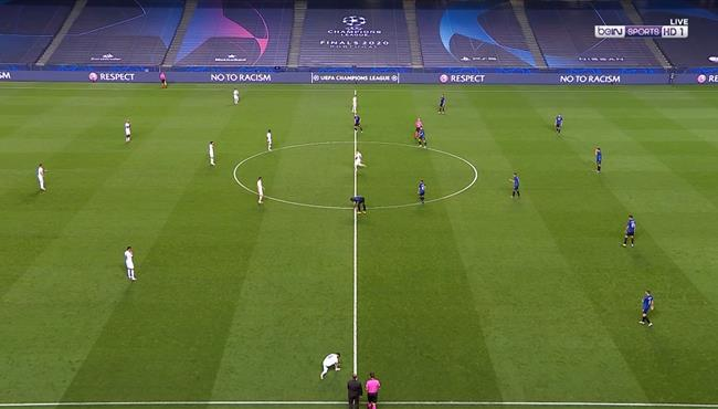 ملخص مباراة باريس سان جيرمان واتالانتا (2-1) دوري ابطال اوروبا