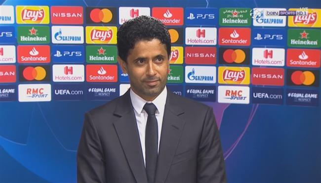 اول تعليق من ناصر الخليفي بعد صعود باريس سان جيرمان لنصف نهائي دوري ابطال اوروبا