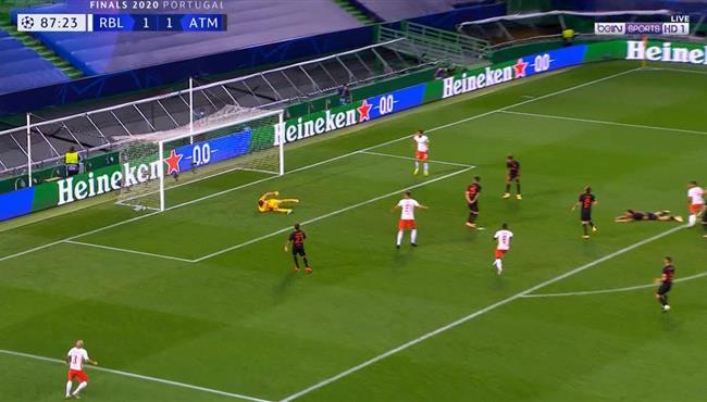 هدف لايبزيج الثاني القاتل فى مرمي اتلتيكو مدريد (2-1) دوري ابطال اوروبا