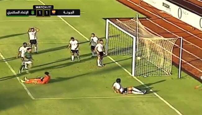 اهداف مباراة الاتحاد السكندري والجونة (1-1) الدوري المصري