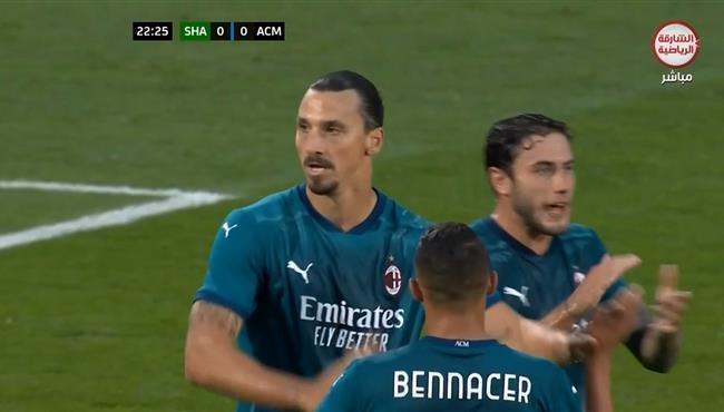 اهداف مباراة ميلان وشامروك (2-0) الدوري الاوروبي