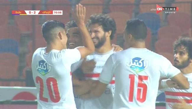 اهداف مباراة الزمالك وطنطا (3-1) الدوري المصري