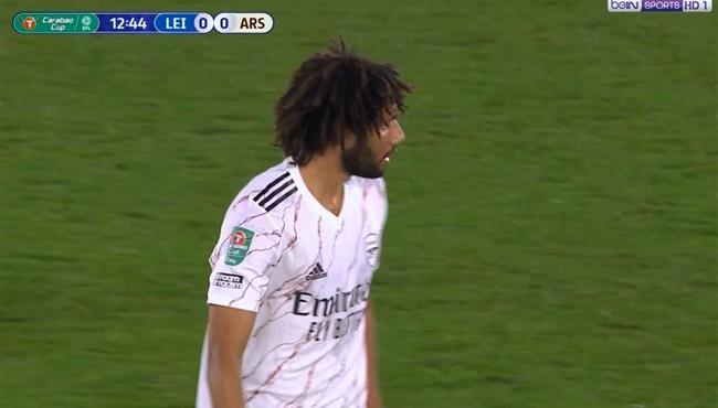 ملخص لمسات محمد النني في مباراة ارسنال وليستر سيتي