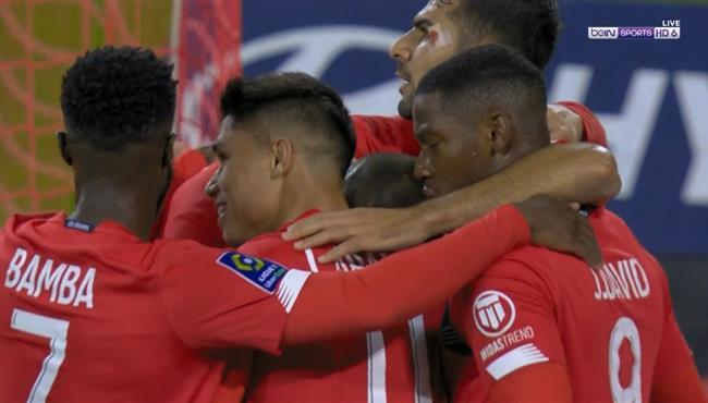 اهداف مباراة ليل ونانت (2-0) الدوري الفرنسي